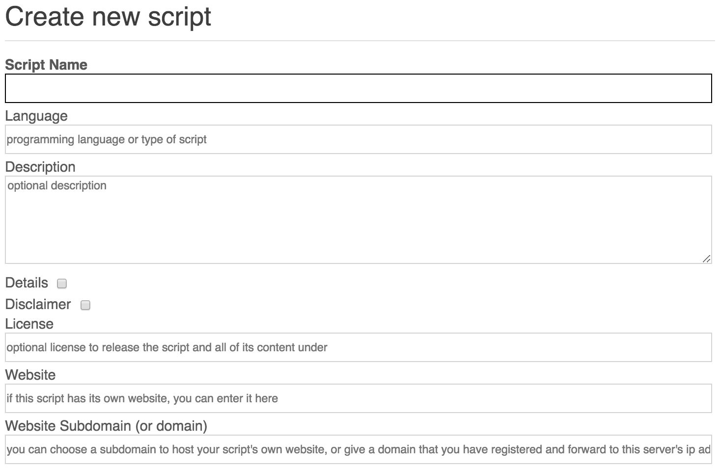 User Manual - Scripts - Bot Libre for Business